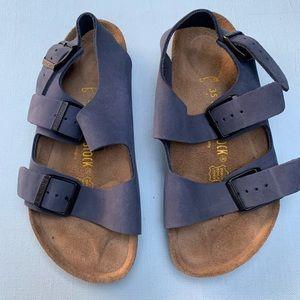 Birkenstock Milano Sandals - Strappy Buckle Sandal